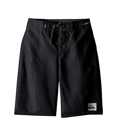 Quiksilver Kids Highline Kaimana 19 Boardshorts (Big Kids) (Black) Boy
