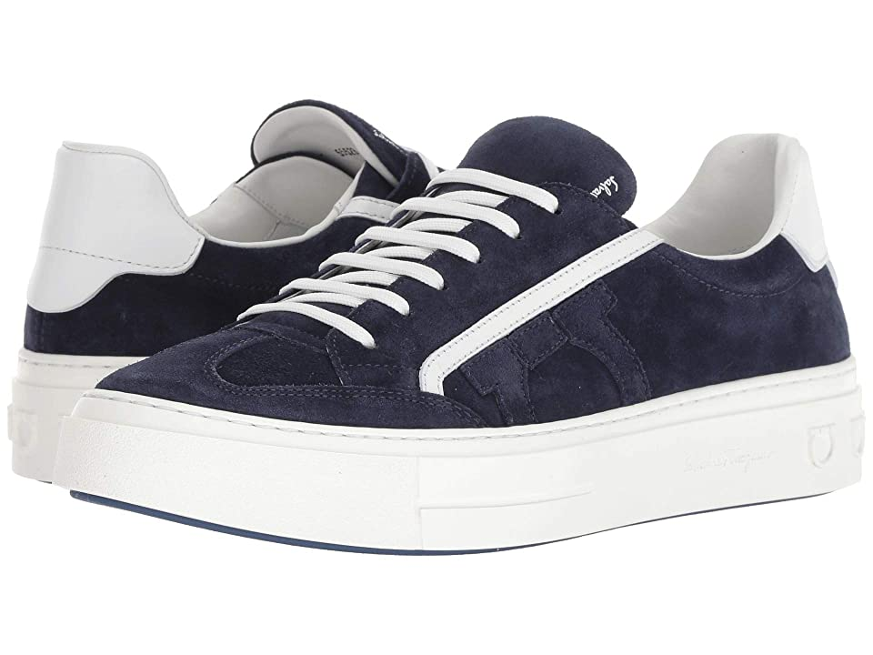 Salvatore Ferragamo Borg 2 Sneaker (Blue Garconne 266) Men