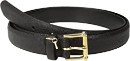 "LAUREN Ralph Lauren 1"" Faux Stingray Belt"