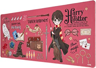 Grupo Erik Harry Potter Mousepad   Gaming Mousepad   Mauspad mit Motiv   XL Mausepad