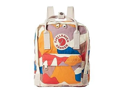 Fjallraven Kanken Art Mini (Spring Landscape) Backpack Bags