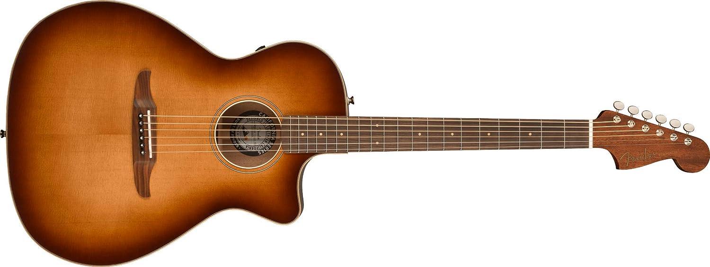 Fender Newporter Classic - Guitarra electroacústica con bolsa
