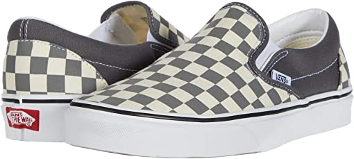 (Checkerboard) Pewter/True White