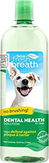 TropiClean Oral Care Water Additive for Pets, 33.8 Oz - Made in USA