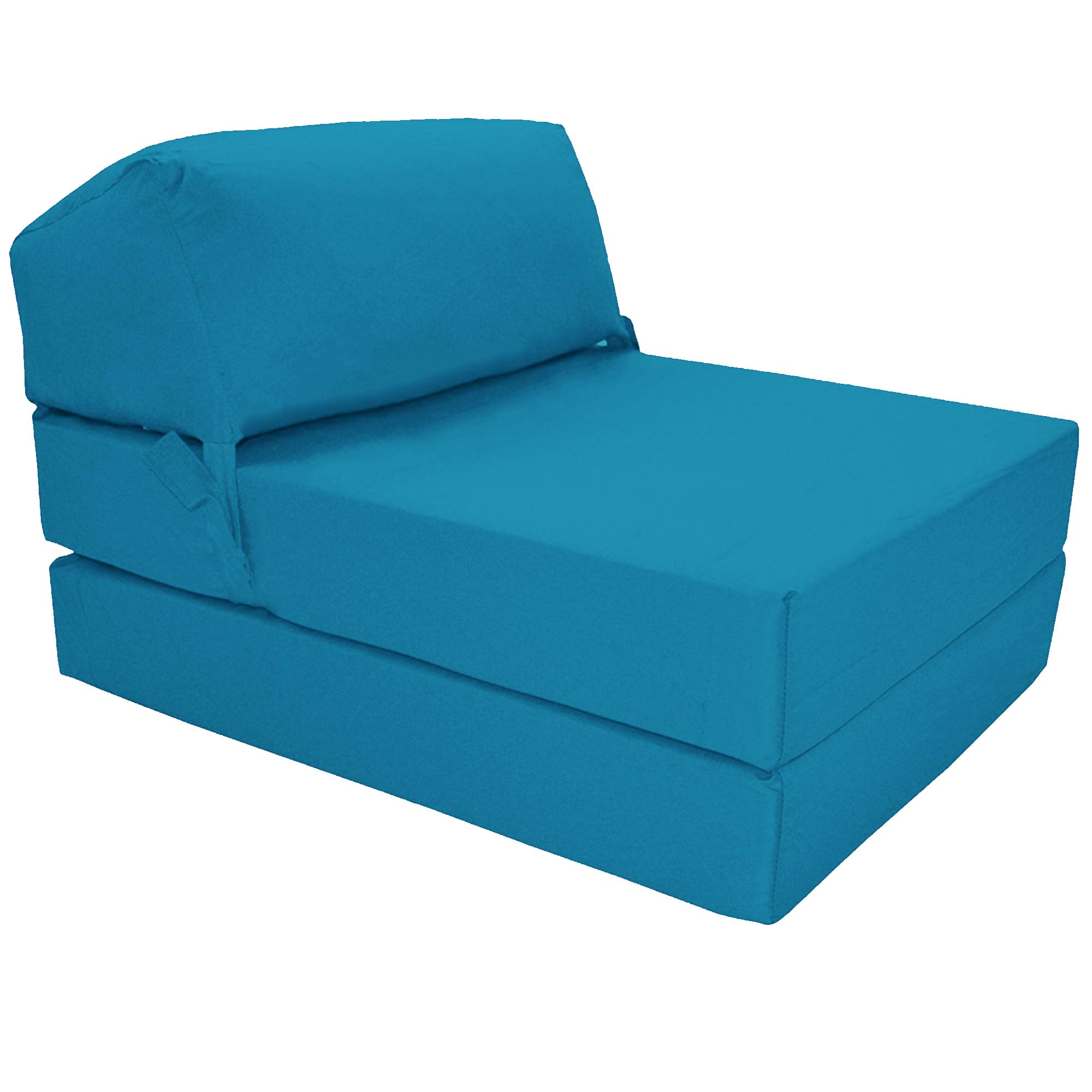 Gilda | Futon Z Chair bed (Jazz Cushion) Outland - Single Clean Coated Polyester  sc 1 st  Amazon.co.uk & Foam Chair Bed: Amazon.co.uk