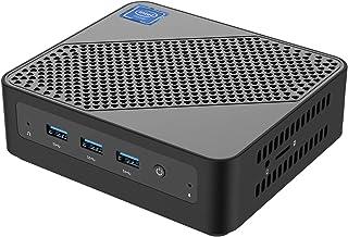 U700 Mini PC Intel Core i5-5257U Windows 10 Pro Mini PC Desktop Computer,Expandable RAM 8GB DDR3L+256GB SSD, HDMI/Mini DP/...