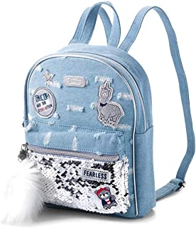 Justice Revolution Denim Mini Backpack
