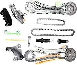 SCITOO TK4090 Timing Chain Kit Cam Chain Tensioner Cam Sprocket Cam Chain Guide Rail fits for 97-09 Ford Explorer Mazda B4000 Mercury Mountaineer