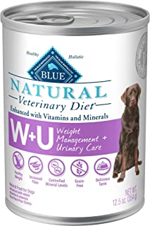Blue Buffalo Natural Veterinary Diet Weight Management + Urinary Care for Dogs 12.5oz