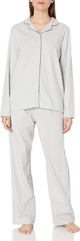 HANRO Women's 大注目 Edda Long Pajama 安心の定価販売 Sleeve Set
