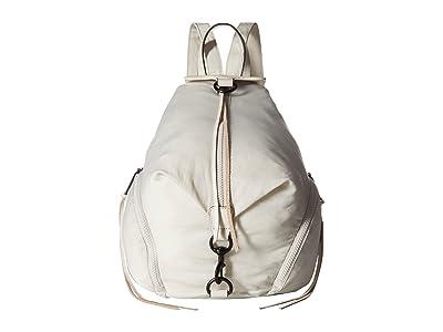 Rebecca Minkoff Julian Nylon Backpack (Bone) Backpack Bags