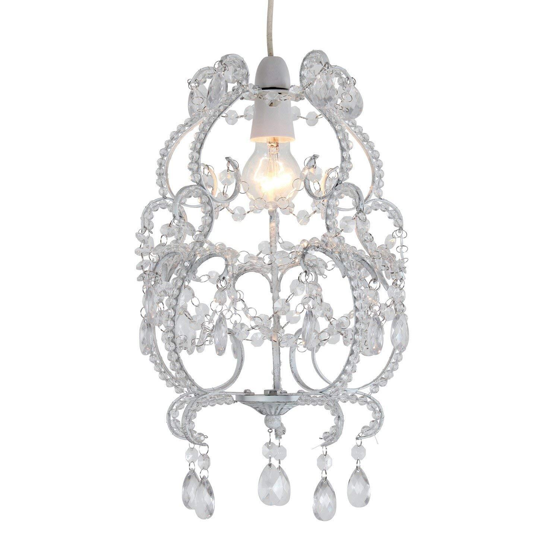 Modern Glam Shaded Crystal Chandelier 5 Light | Crystal