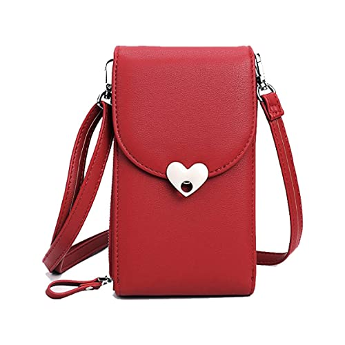 5be0e3140009 Women Cross Body Bags Cellphone Purse Shoulder Bags Travel Pouch Girls Leather  Wallet With Adjustable Strap