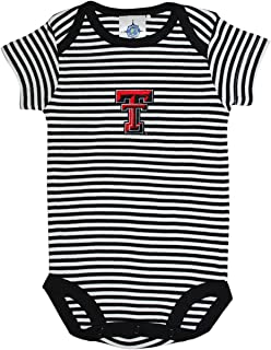 Texas Tech University Red Raiders Striped Baby Bodysuit