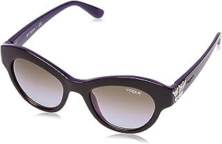 Vogue Eyewear Gradient Cat Eye Women'S Sunglasses - (0Vo2872S21866850|49. 3|Violet Gradient)
