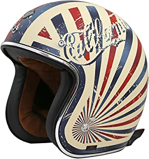 TORC (T50 Route 66) 3/4 Motorcycle Helmet with Graphic (Dreamer)