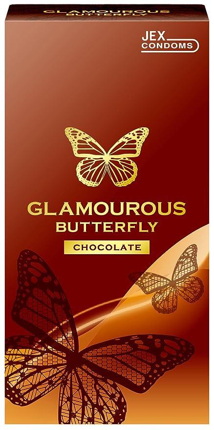 公爵夫人魅了する最愛のグラマラスバタフライ チョコレートの香り 6個入
