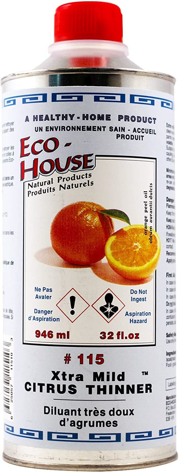 Eco-House Dallas Mall Extra Mild Citrus Thinner - Can 32oz trust