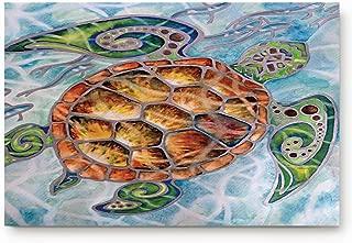 ALAGO Sea Turtles Ocean Animals Doormats Entrance Front Door Rug Outdoors/Indoor/Bathroom/Kitchen/Bedroom/Entryway Floor Mats,Non-Slip Rubber,Low-Profile