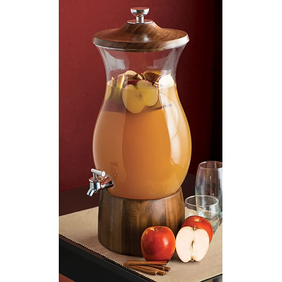 Shannon Crystal Beverage Dispenser - 2.5 Gallons (9.46 Liters)