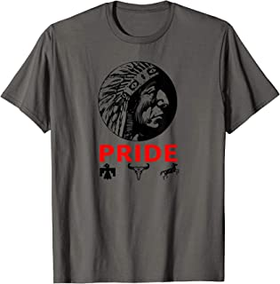 Proud Indigenous American Indian Tribal Reservation Pride T-Shirt