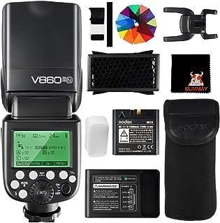 Godox V860II-N High Speed Sync 1 / 8000S GN60 2.4G TTL Li-on Batería Cámara Flash Speedlite para Nikon DSLR D800 D700 D710...