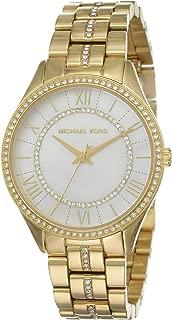 Michael Kors Women's Lauryn Quartz Stainless-Steel Strap, Gold, 16 Casual Watch (Model: MK3899)