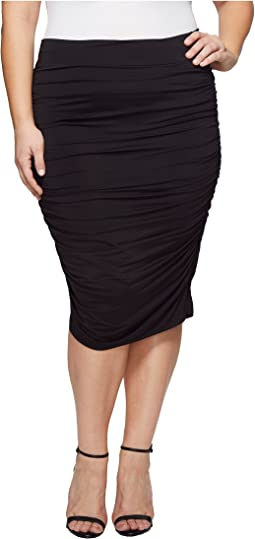 Kiyonna Helena Ruched Skirt