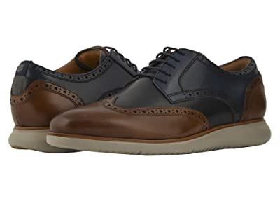 Florsheim Fuel Wing Tip Oxford (Cognac/Brown Sole) Men