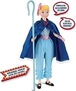 Toy Story Disney Pixar 4 Bo Peep Deluxe Talking Adventure Figure. Amazon Exclusive