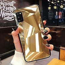 URFEDA Compatibel met Samsung Galaxy A41 telefoonhoesje Diamond Glitter Case met spiegeleffect Sparkly Bling TPU Siliconen...