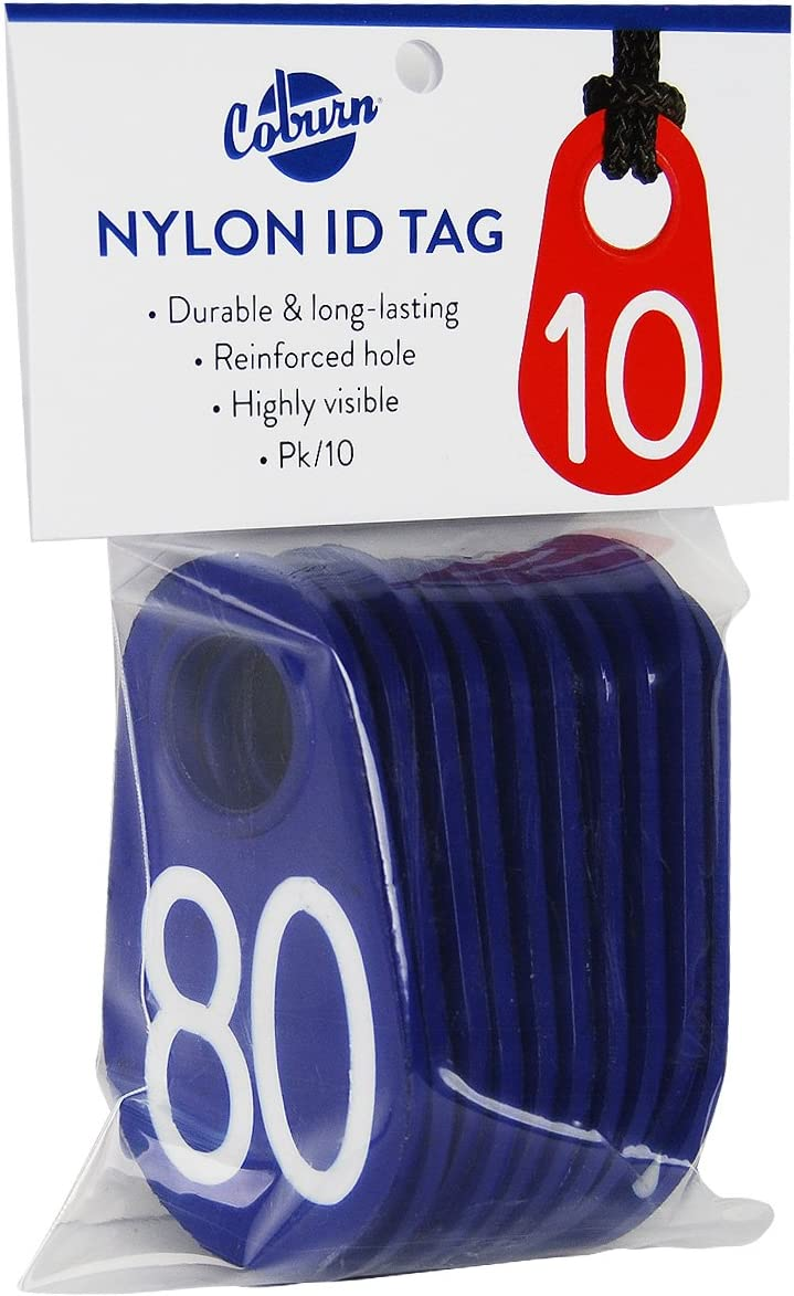 Coburn Overseas Gifts parallel import regular item 258PK-06-080 Blue Neck Tag #'D 71-80