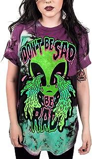 1c67c5f91ee9ed Coli Tori Street Style UFO Alien 3D Digital Print T-Shirt