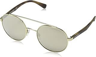 EA2051 30135A Matte Pale Gold EA2051 Round Sunglasses Lens Categ