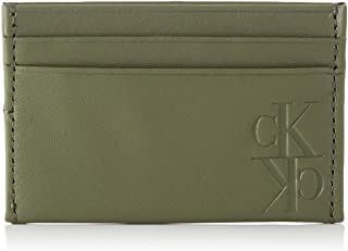 Calvin Klein Mirror Monogram Card Case Wallet, 10 cm, K50K505266
