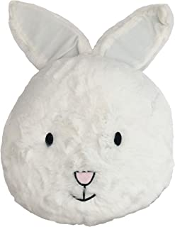 "little furn. Lapin Pre-Filled Cushion, White, 43 x 30cm (17"" x 12"")"