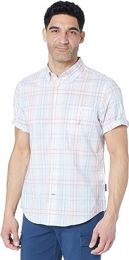 Navtech Slim Fit Plaid Shirt