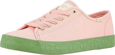 Keds x kate spade new york Kickstart Logo Foxing (Pink/Green Canvas) Women