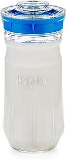 Kefirko The Ideal Set to Make Milk Kefir or Water Kefir at Home (1.4 Litres) Sky Blue