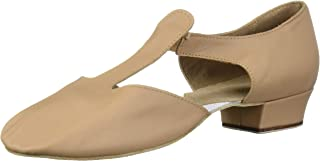 Bloch Dance Women's Grecian Sandal Dance Shoe, tan, 8 Medium US