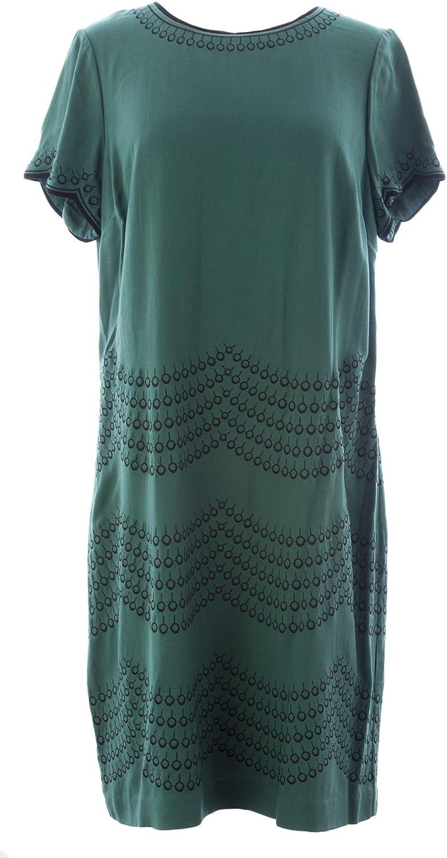 BODEN Women's Fancy Embroidered Dress US Sz 10L Hooker's Green