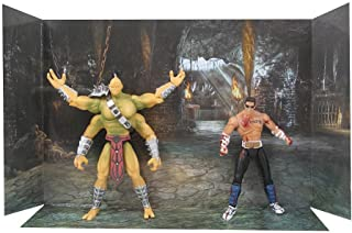 Mortal Kombat 20th Anniversary 5 Inch Action Figure 2-Pack Goro's Lair w/ Johnny Cage Figure