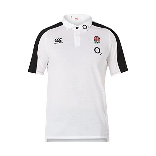 2b0fa2e5df0 Canterbury Men's Official England 18/19 Vapodri Performance Cotton Rugby  Polo