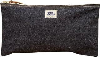 (ダブルアールエル) RRL ミディアム セルビッジ デニム ポーチ Medium Selvedge Denim Pouch 並行輸入品 [並行輸入品]