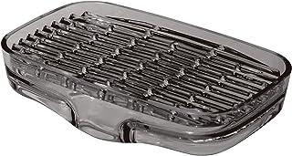 ライクイット ( like-it ) ソープディッシュ 水が切れる シンクキャディ 幅14.3x奥8.8x高3.3cm グレー 日本製
