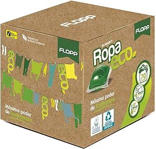 Flopp - Detergente Ecológico en Cápsulas para la Ropa Estuche 70 Cápsulas | Detergente Eco para Lavadoras Ropa Blanca y C...