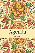 Agenda 2022-2023: Regalo para Amantes de la Pizza, Cocinero, Pizzero, Pizzería, Calendario 22-23 Vista Semanal y Mensual, ...