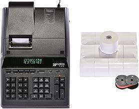 Genuine Monroe 8145X 14-Digit Printing Calculator with Supplies!