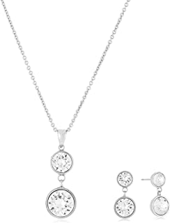 MESTIGE Women Crystal Nyree Set with Swarovski Crystals