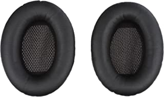 Aminori - Replacement Earpads Ear Cushion for Bose Quiet Comfort 15, 2, 25, Ae2, Ae2i (Black)